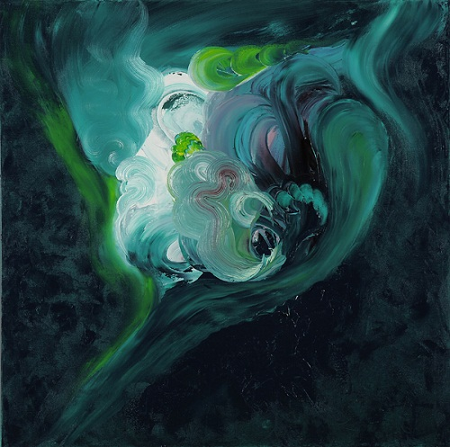 Avatar, 100x100, oil on canvas, Cyprus 2010