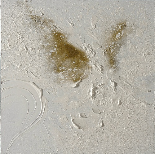 Ammos-butterfly-40x40cm-oil-and-sand-on-canvas-kristina-sretkova-2012-cyprus