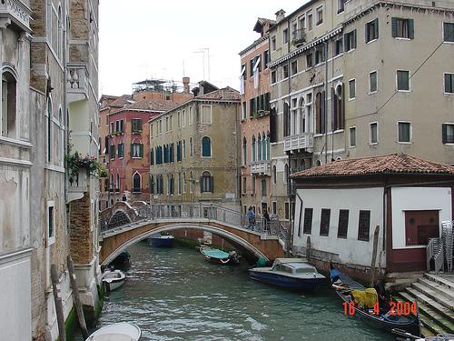 Bridge, Sestiere of Castello, Venice, Italy