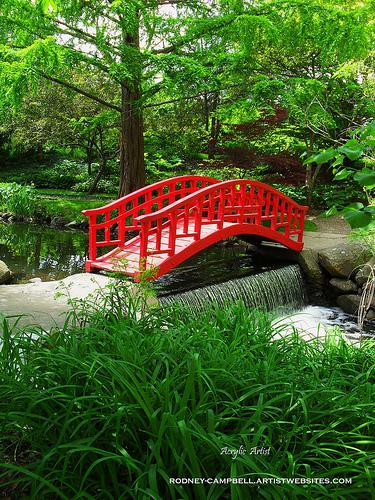 Bridge in the Woods AD AcrylicArtist