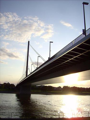Oberkasseler Brücke - Düsseldorf