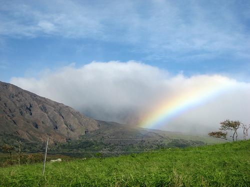 Rainbow & Haleakala