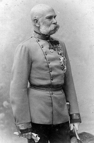 Franz Josef I - ca 1885