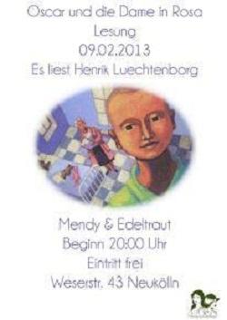 Oskar und die Dame in Rosa Henrik Lüchtenborg